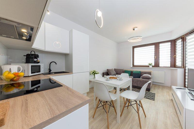 Apartment Focus, Ferienwohnung in Czosnow