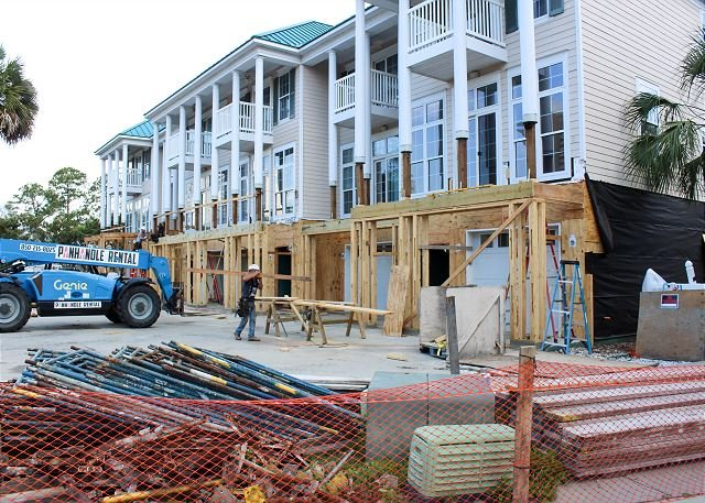 Current Construction happening next door