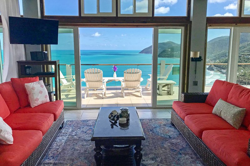 'Tortola Adventure' Private Villa w/Infinity Pool!, holiday rental in Tortola