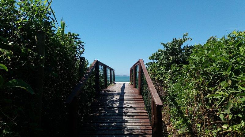 Promenade à la plage