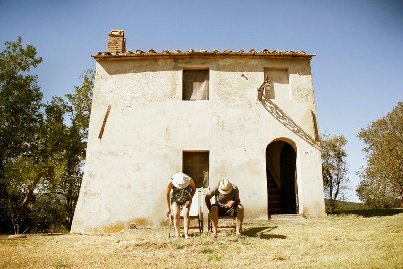 Casa Scuola in the hamlet of Gello, Tuscany, location de vacances à Querceto