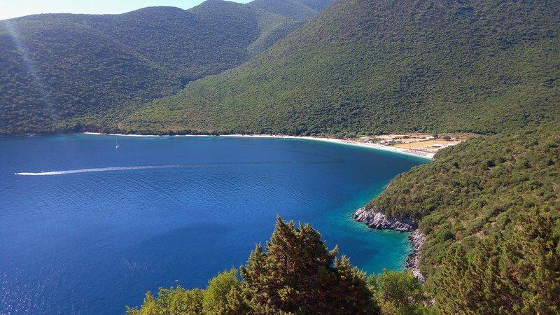 Antisamos beach 55 Km