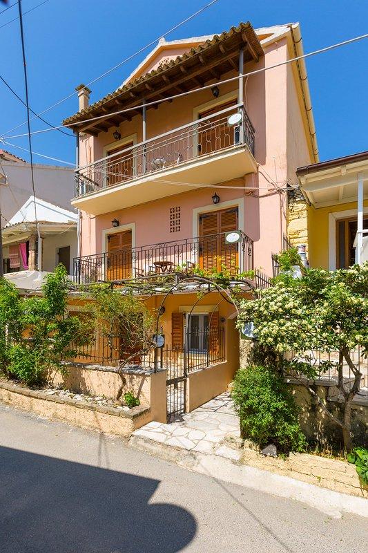 Schöne Wohnung mit Balkon und Meerblick