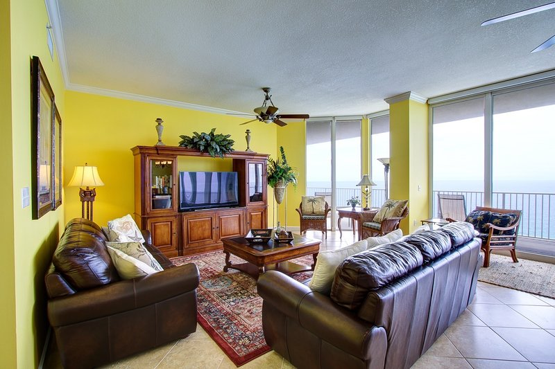 Welcome to one of the ONLY 5 bedroom Penthouses in Panama City Beach!