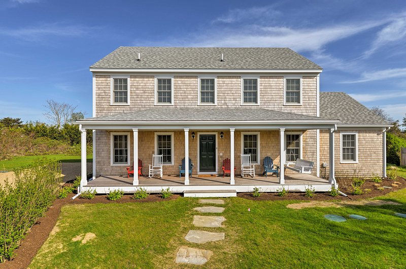 Escape to Nantucket with this 5-bedroom, 3-bathroom vacation rental home!