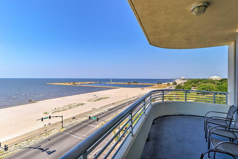 Leave your worries behind and stay at this Biloxi vacation rental condo!