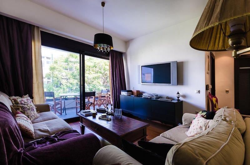 Luxury city one bedroom apartment, alquiler vacacional en Heraklion
