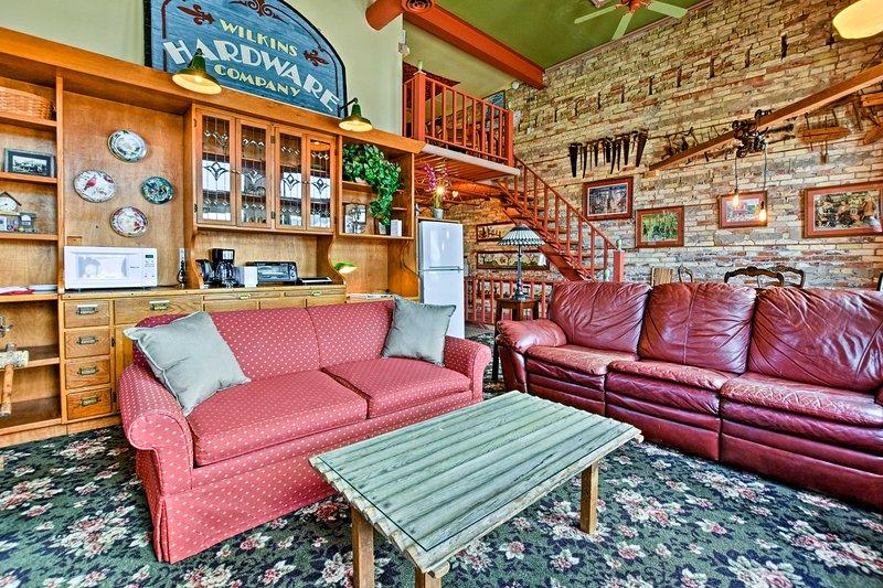 Dit centrum loft appartement is perfect voor 6 reizigers met een Michigan avontuur.
