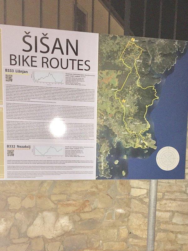 Routes de vélo