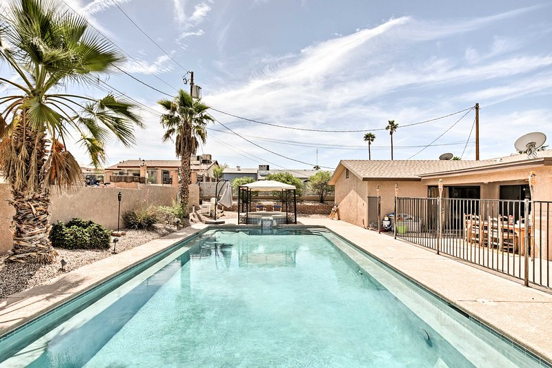 The ultimate staycation awaits at this Lake Havasu City vacation rental house!