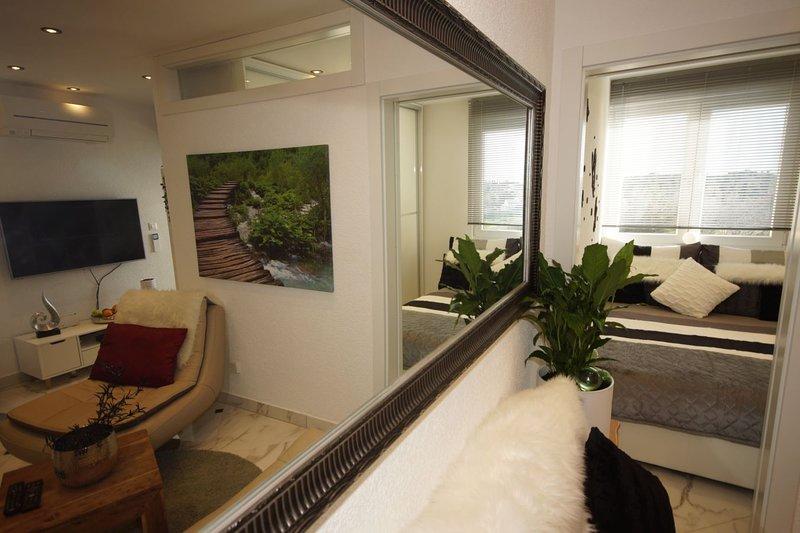 sala de estar / dormitorio