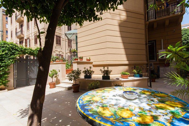 Casa Amaltea - Appartamento Arancio, Ferienwohnung in Palermo