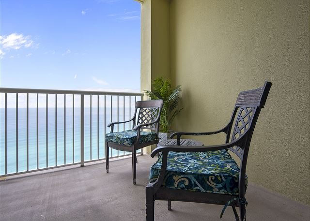 Large Private Balcony