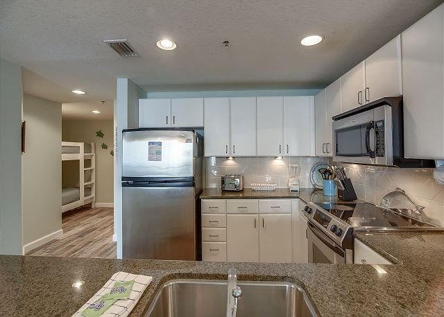 Fully Equipped Kitchen Area