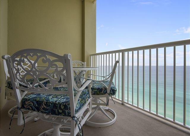 Dining Area on Balcony