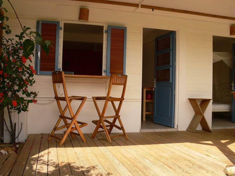Appartement  T2 Plage des Surfeurs, vacation rental in Tartane