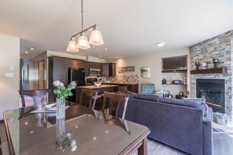 Larger Warm Open Concept Living Area