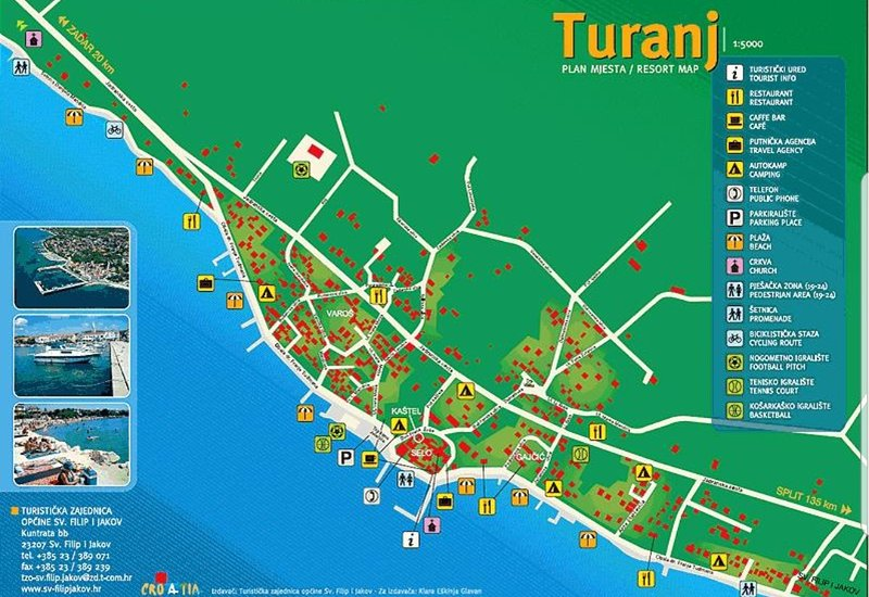 Maps of Turanj