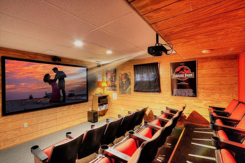 20 casa classico sede del teatro, dello schermo di 100 pollici, HD proiettore, il suono 4K surround,