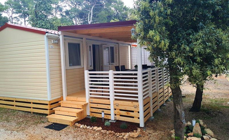 Mobile homes Allegra Soline, vacation rental in Biograd na Moru