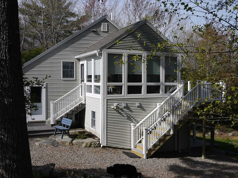 Buckeyes & Blueberries - beautiful, updated cottage overlooking Somes Sound, holiday rental in Acadia National Park