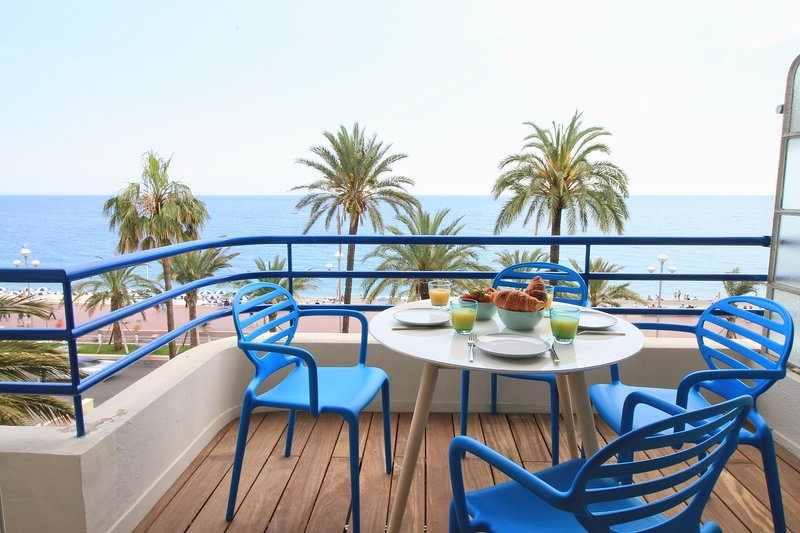 HORIZON - Luxury 2 bed with stunning sea view, alquiler vacacional en Niza