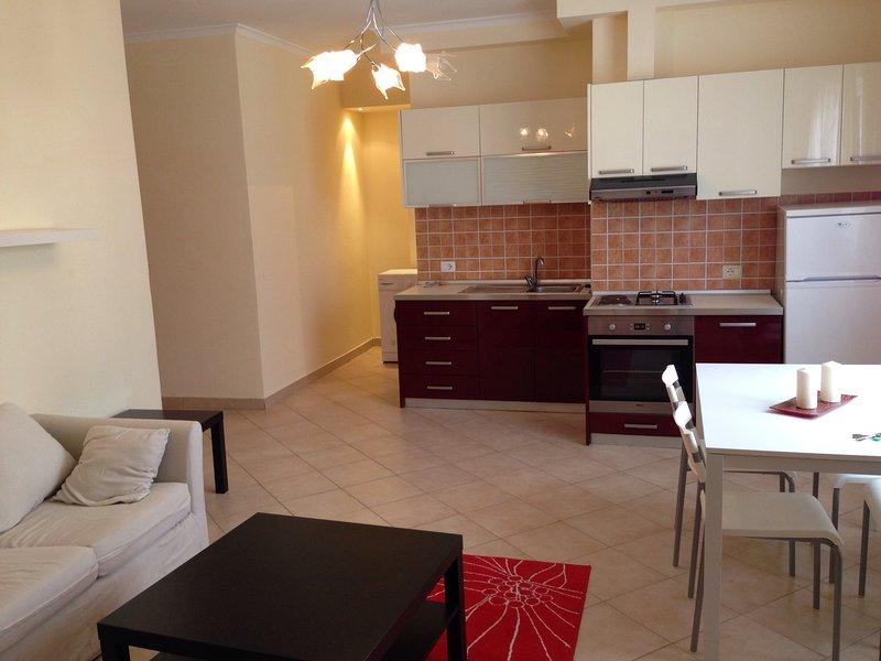Roza apartment, alquiler vacacional en Qerek