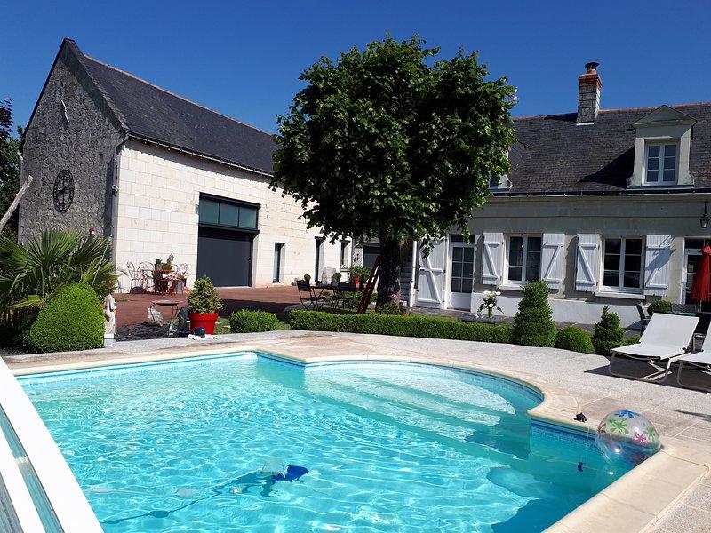 Gîte Théophane ****, aluguéis de temporada em Varennes sur Loire