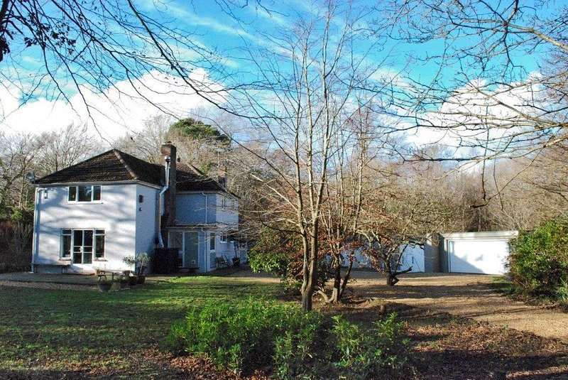 Large 6 bedroom house with woodland, vacation rental in Sway