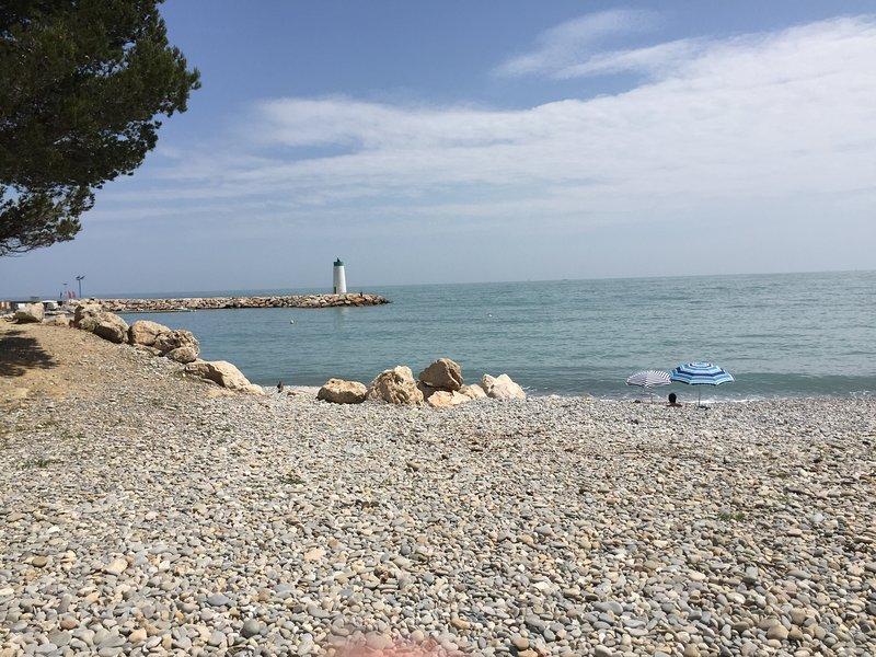 Beach on site