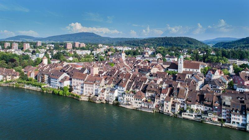 Gamla stan i Rheinfelden