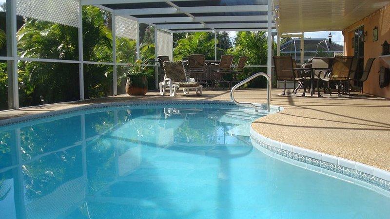 Pool and Lanai, Southern exposure
