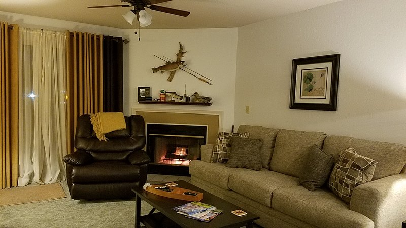 Newly Updated 2 BR Condo Sleeps 6. There is Surround Sound, Cable TV, and Free WiFi.
