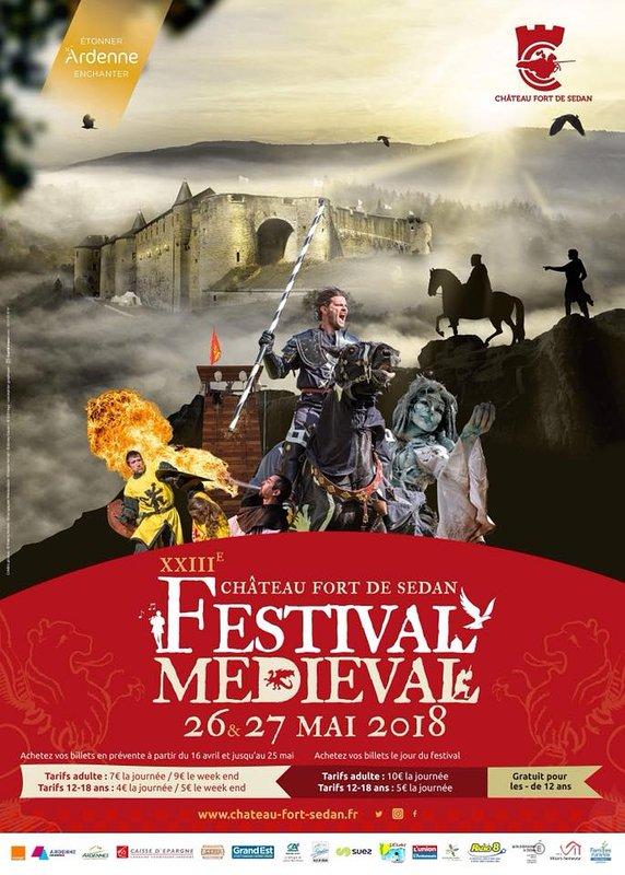 The medieval festival of Sedan! a real joy
