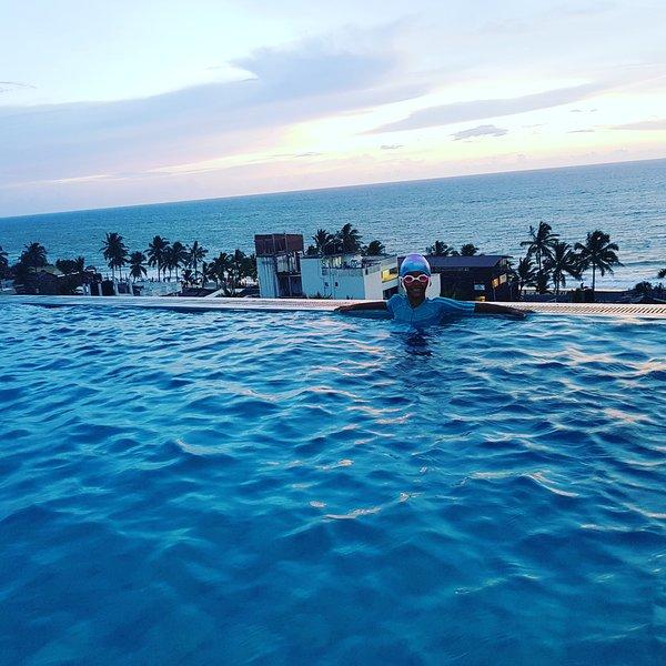 Hiru Ocean Villa mount lavinia beach, casa vacanza a Dehiwala