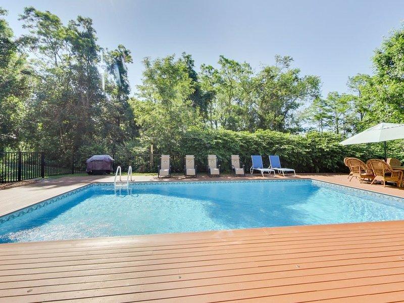 El área de la piscina tiene privacidad completa