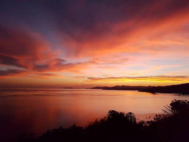 Sunrise from Villa V