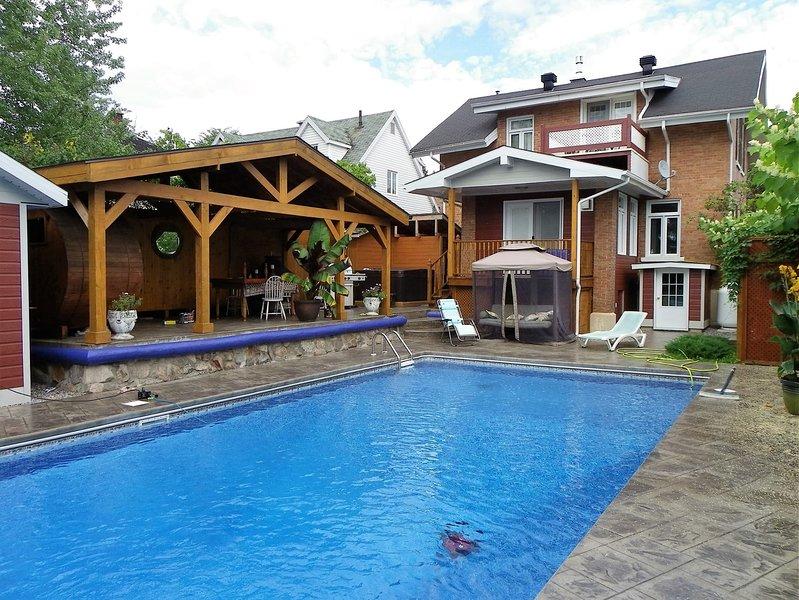 Le Celte Boreal , gîte luxueux pour les amants de la nature et spa complet., vacation rental in La Tuque