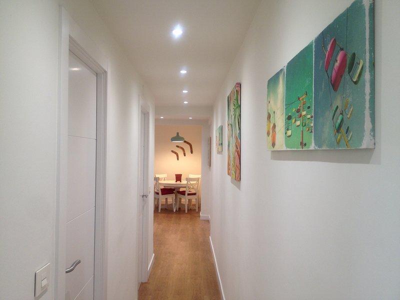 Centro, BEC, Guggenheim, Metro. Free Parking+Wifi., holiday rental in Barakaldo