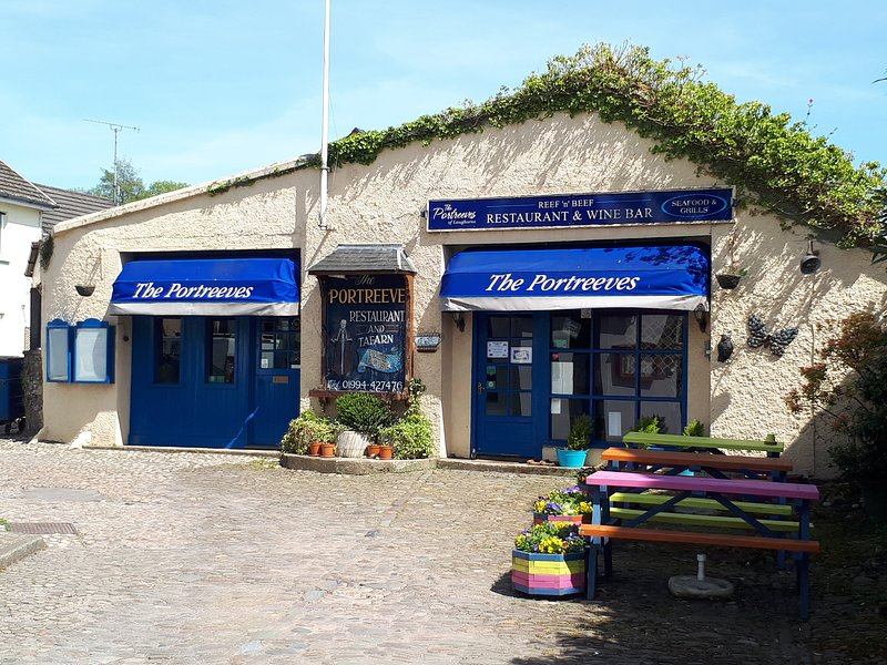 Portreeve restaurant for fabulous evening meals