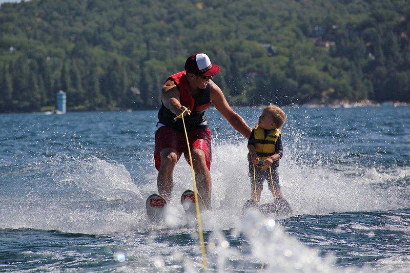 Water skiing - Xavi Mill Ventallo 8 kms