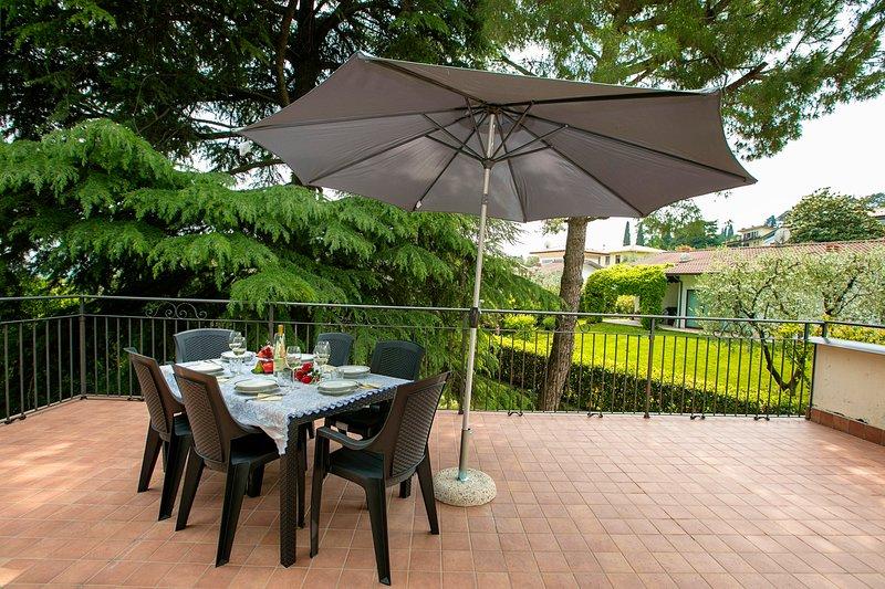 Villa Alberti Appartamento Emma, holiday rental in Villanuova sul Clisi