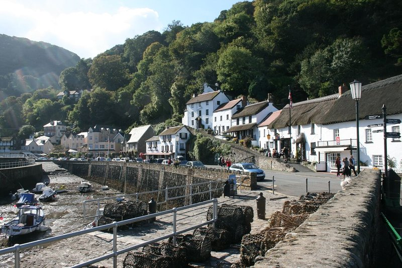 Pitoresca Lynmouth Harbour