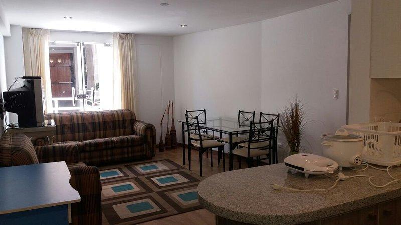 departamento dos dormitorios a 5 cuadras de la Plaza de Armas, alquiler de vacaciones en Arequipa