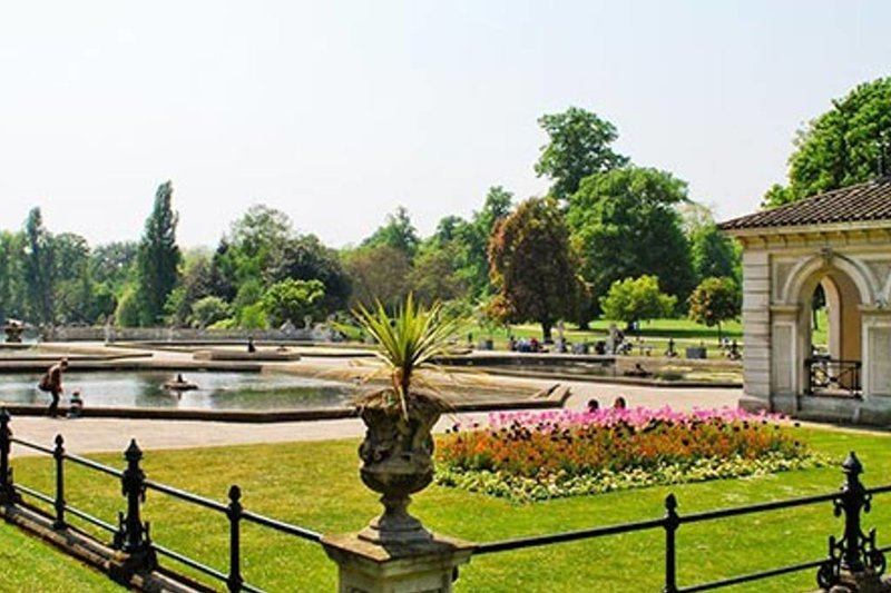 Hyde Park is also just a short walk from the apartment.