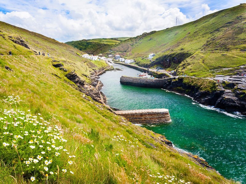 Boscastle a short drive away