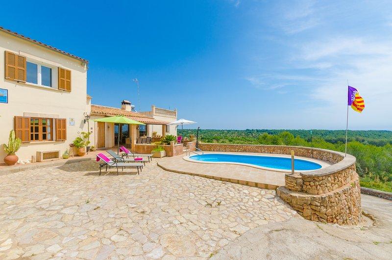 CAN JOAN CONILL - Villa for 8 people in cala Murada (Manacor), location de vacances à Calas de Majorca