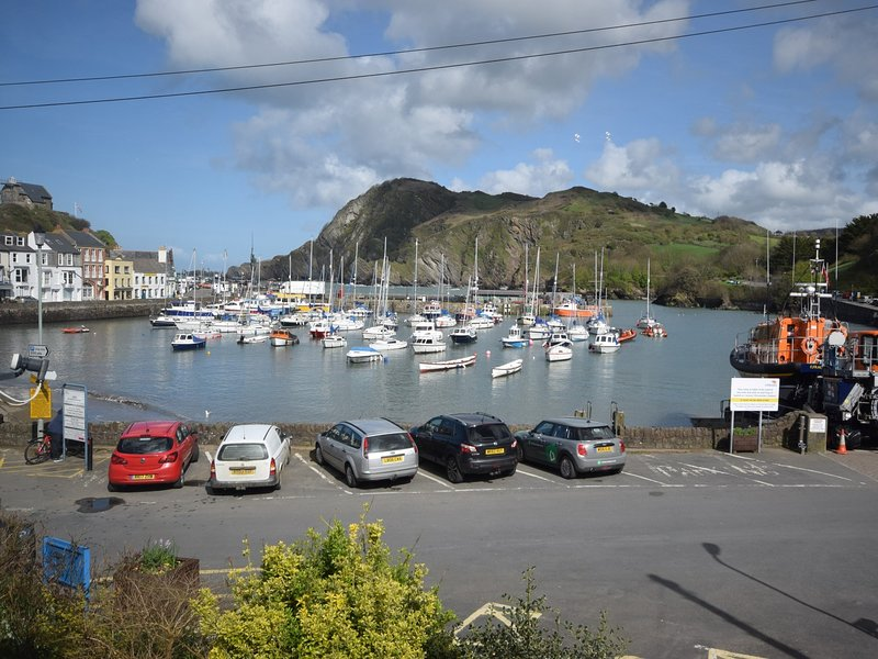 Beautiful Ilfracombe harbour is a stones throw from the cottage