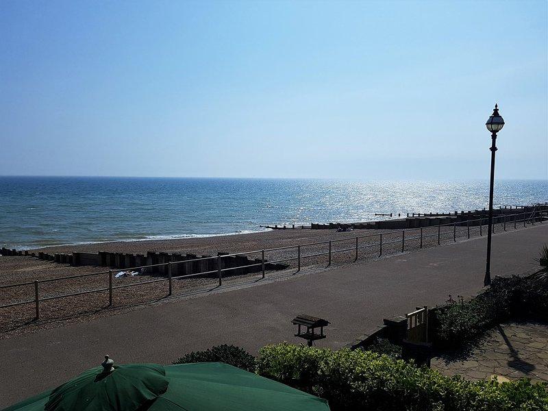 Enjoy an afternoon walk along the beach