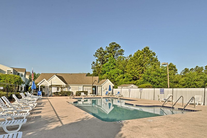 Take advantage of the community pool only 5 minutes away.